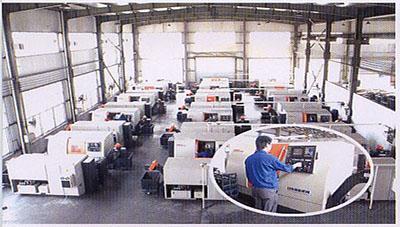 Ever-Power CNC Lathe Workshop