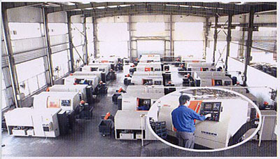 Ever-Power CNC Lathe Workshop